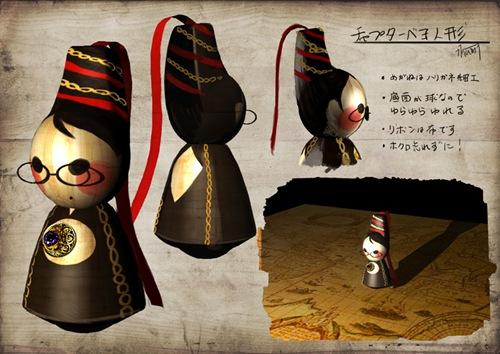 チャプター人形ベヨ