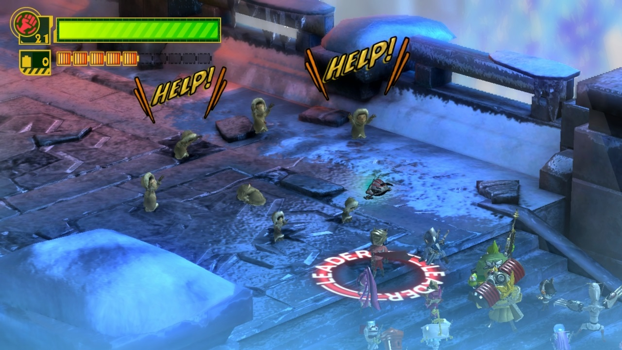 Unite Gun is used to lock-on to enemies, inflict stun, and build your combo multiplier.