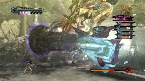 Bayonetta's Wicked Weave changes the way players think about their position relative to the enemy.