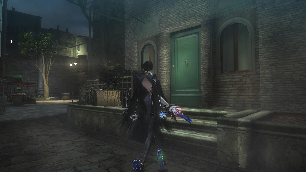 how to get past the door in bayonetta