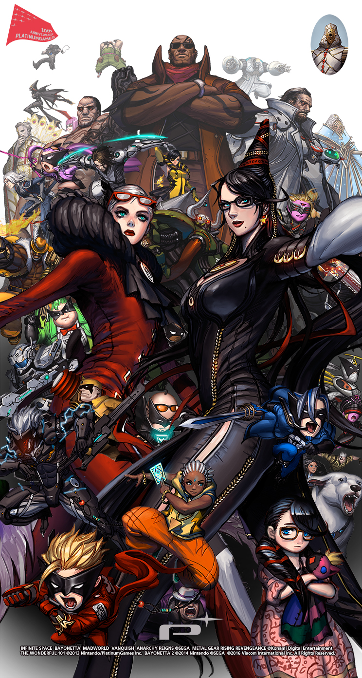 Check Out Our 10th Anniversary Wallpaper Platinumgames