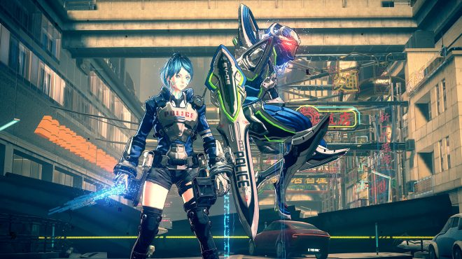 Astral Chain Platinumgames Inc Official Website